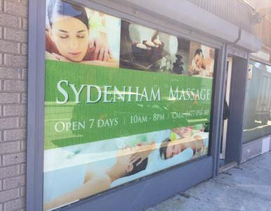 sydenham relaxation massage